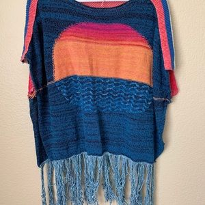 Free People Tops - 🔥30%OFF🔥EUC Free People Sunset fringe top